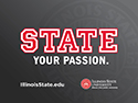 STATE your passion - Grey PowerPoint thumbnail