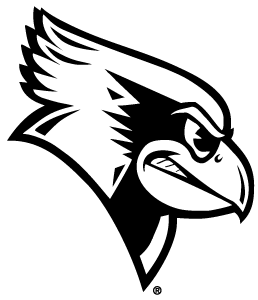 Secondary head black and white logo